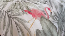 Load and play video in Gallery viewer, Flamingos Pure Silk Pillowcase