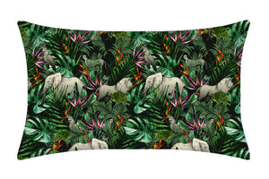 Jungle Pure Silk Pillowcase - MayfairSilk