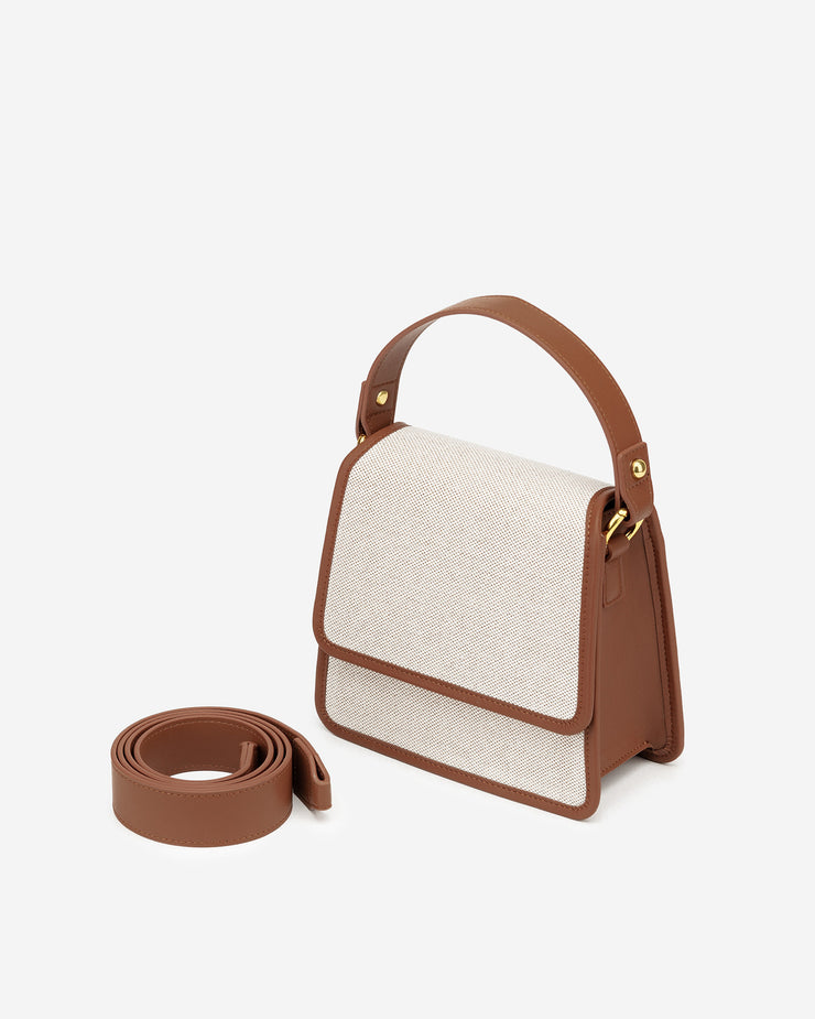 Sac à main Fae - Beige Canevas - E-SHOP OFFICIEL JW PEI FR