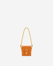 Square Mini Sac Boite  - Orange