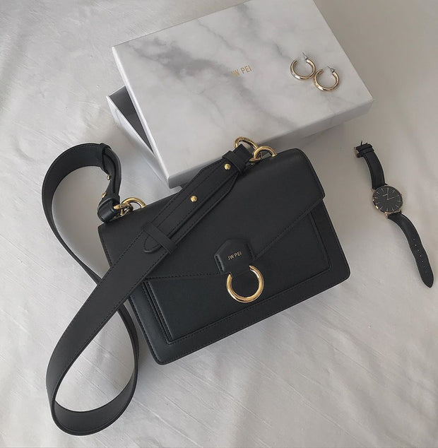 Sac Envelope Bandoulière - Noir - E-SHOP OFFICIEL JW PEI FR