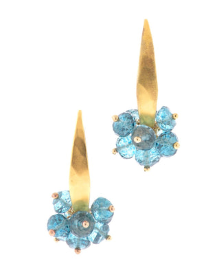 London Blue Topaz Earrings - Dana Busch Designs