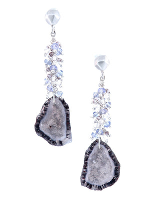 Crystal Caves Speaking Earrings - Dana Busch Designs