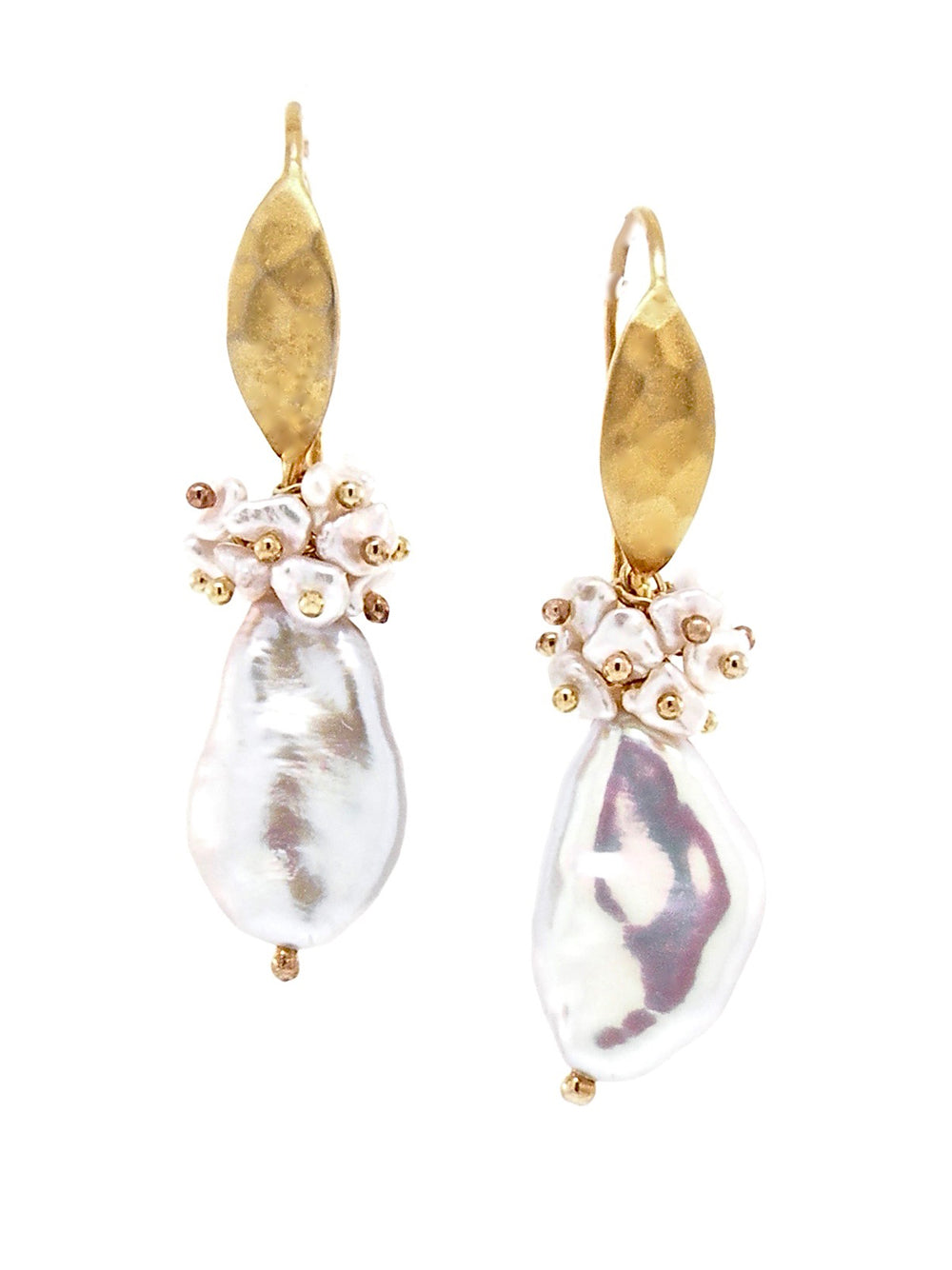 Blooming Pearls of Spain Earrings - Dana Busch Designs
