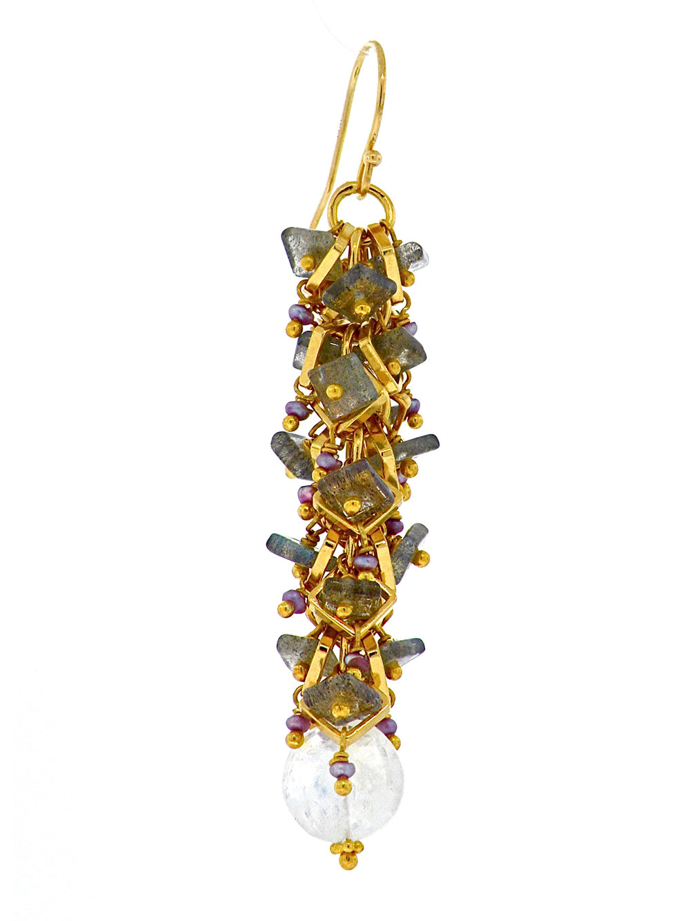 Cascading Pastels Adorning Casa Batillo Earrings - Dana Busch Designs