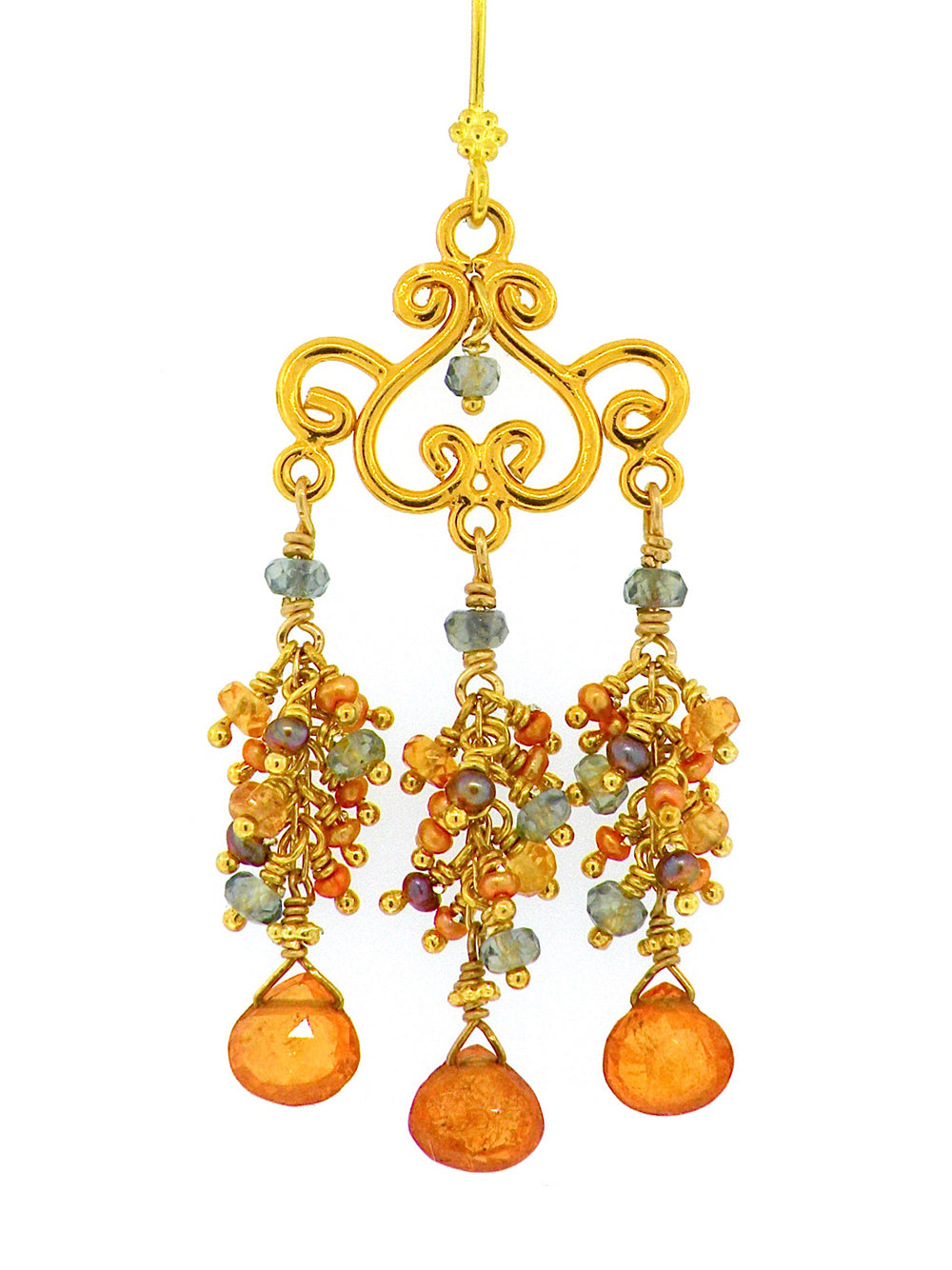 Prismatic Light Temple Within the Familia Sagrada Earrings - Dana Busch Designs