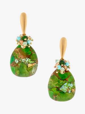Hanalei Valley Tapestry Earrings - Dana Busch Designs