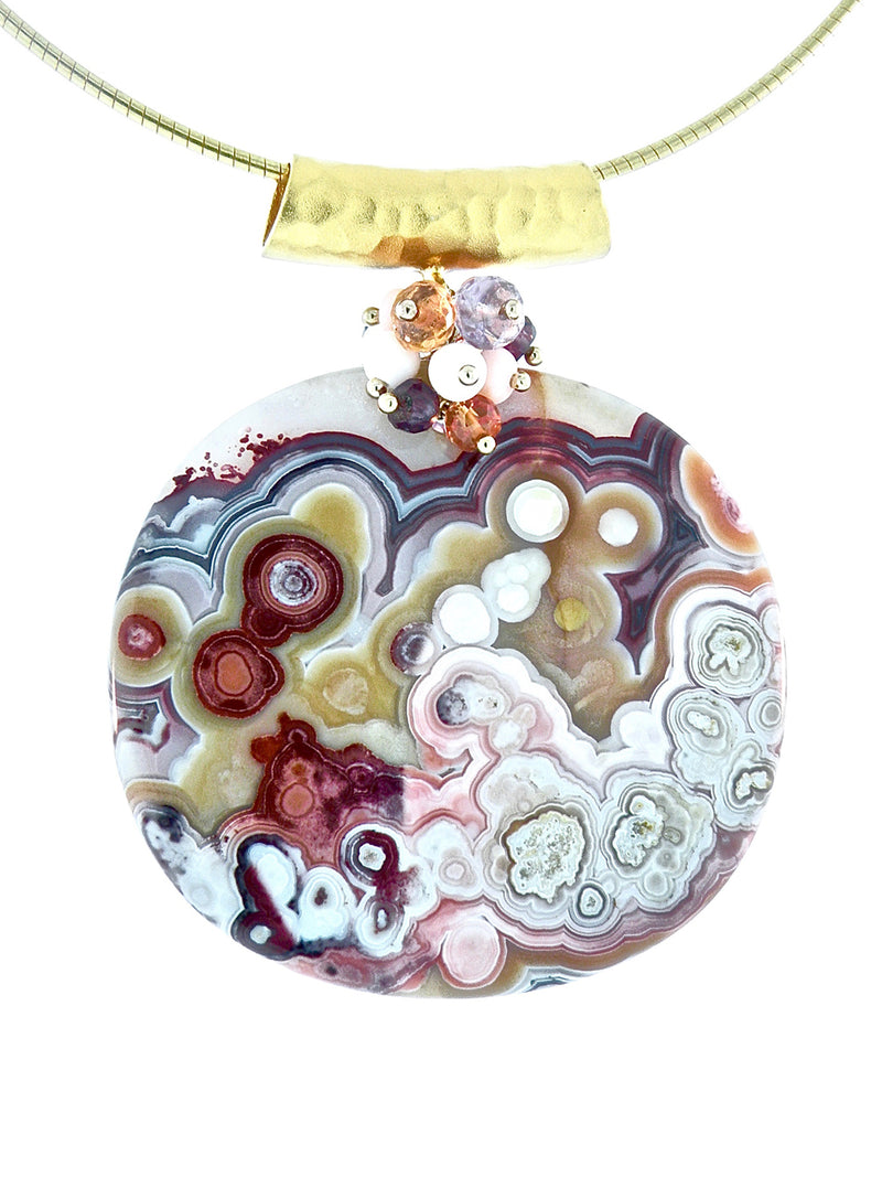 Gaudi Abstraction Pendant - Dana Busch Designs