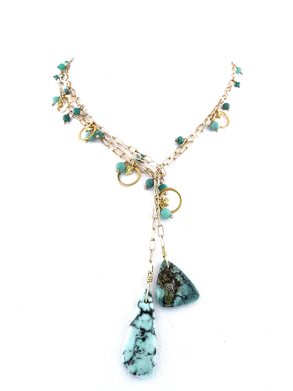 Raindance Adornment Necklace - Dana Busch Designs
