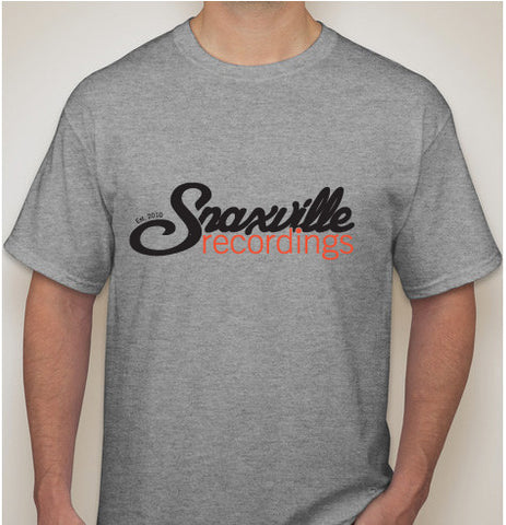 Snaxville Recordings - Grey T-shirt