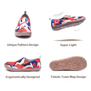 STREET CANVAS Kids Art Designed Knitted Slip-on Shoes (sold out)