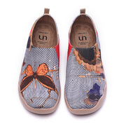 DREAM BIG Women Art Painted Knitted Shoes