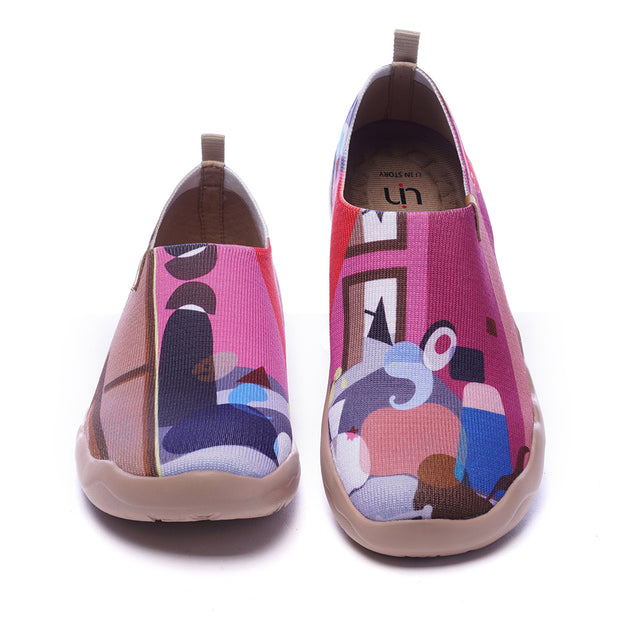 LAS MENINAS Women Art Designed Knitted Shoes
