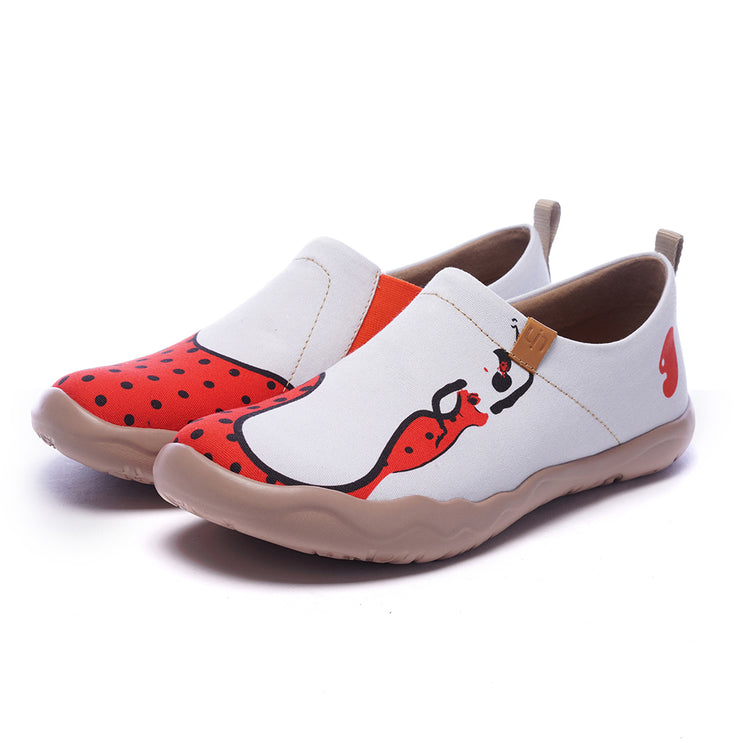 DUENDE Women Painted Travel Shoes