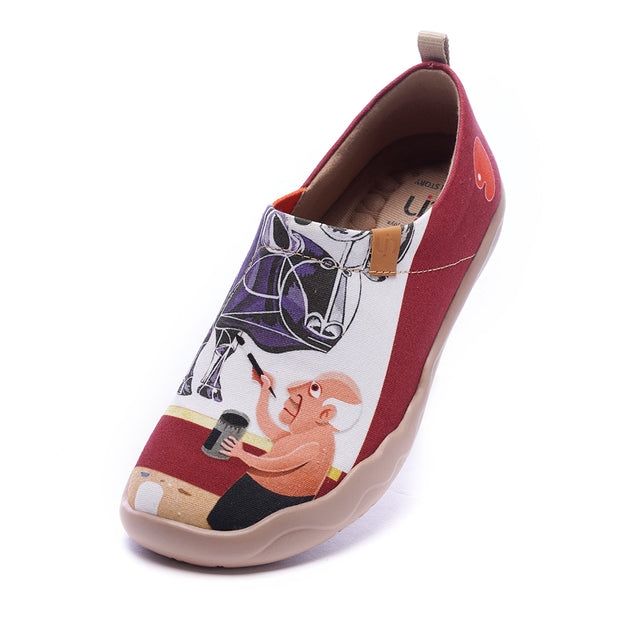 BEAUTYBULL Women Canvas Art Designed Shoes