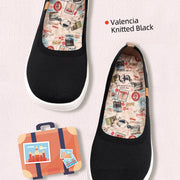 Valencia Knitted Black