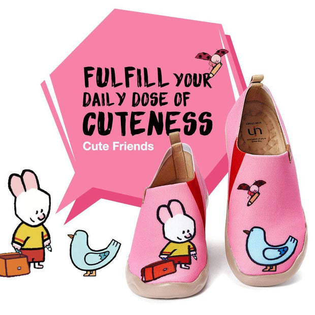 Cute Friends Pink (Kid)