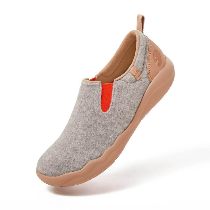 Cuenca Light Grey Wool Women