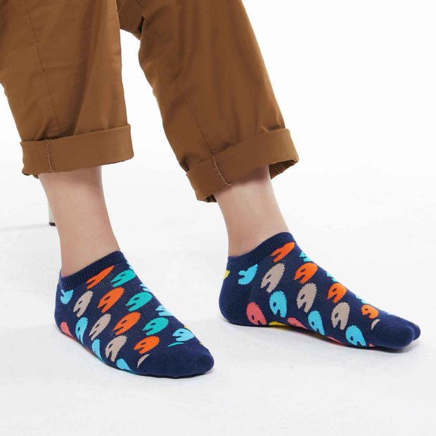 UIN Footwear Accesory Color Game Men Canvas loafers