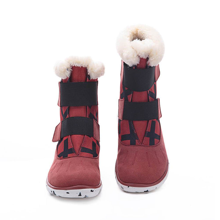 UIN Footwear Kid Ashmole Boots Red Kids Canvas loafers