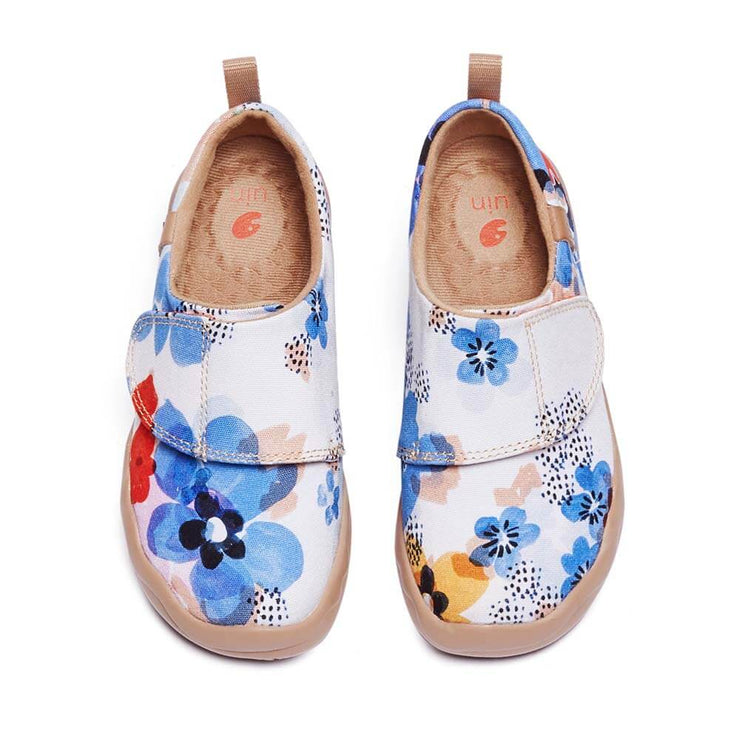 UIN Footwear Kid Forget Me Nots Kid Canvas loafers