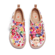 UIN Footwear Kid Frida Makes My Day Kid Canvas loafers