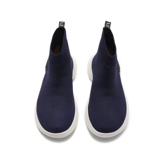 UIN Footwear Kid Masana Blue Canvas loafers