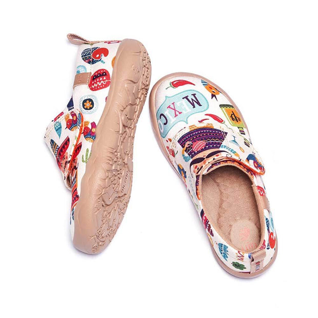 UIN Footwear Kid Play in Mexico Kid Canvas loafers
