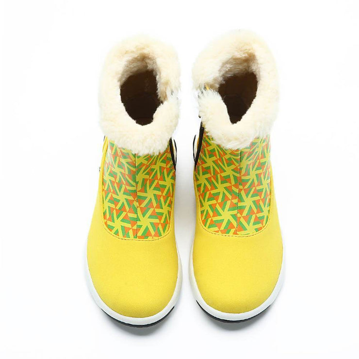 UIN Footwear Kid Rotterdam Boots Yellow Kids Canvas loafers