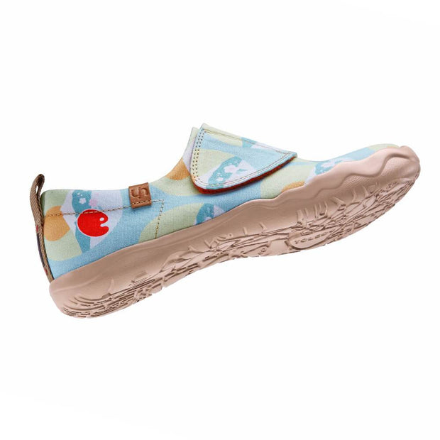UIN Footwear Kid Sunrise at Fuji Canvas loafers
