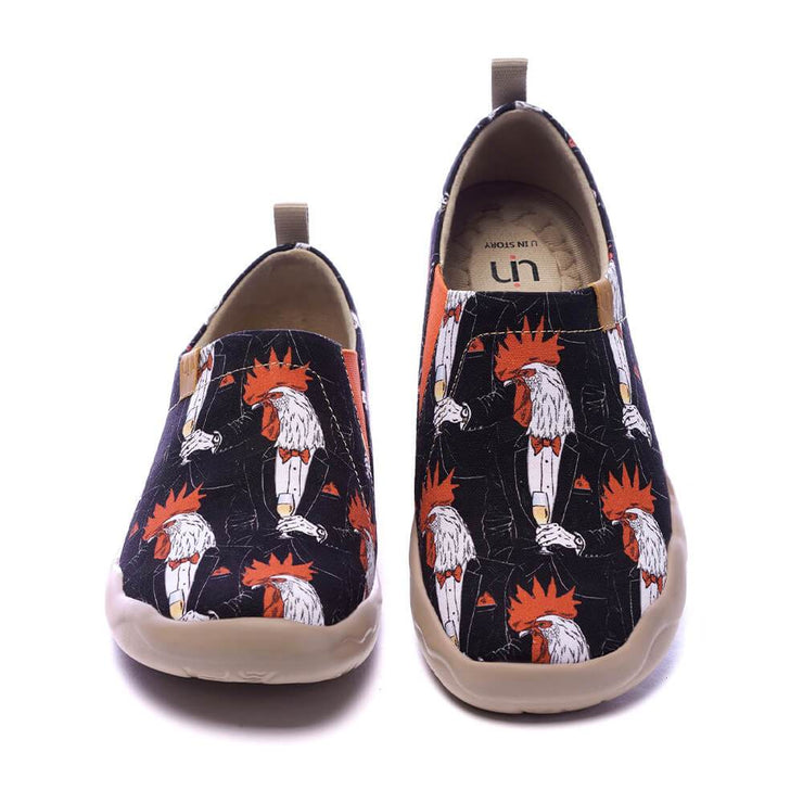 UIN Footwear Men Gallia Canvas loafers