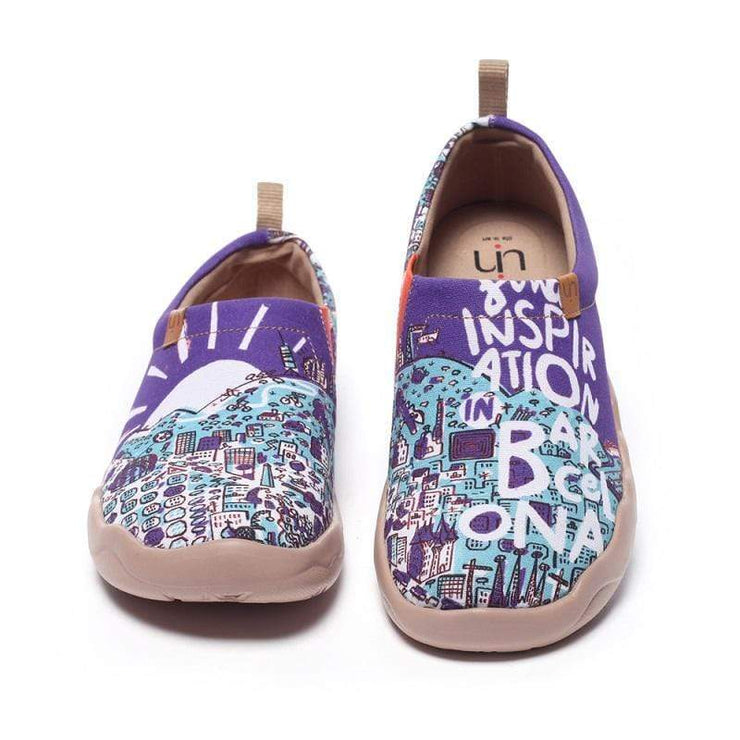 UIN Footwear Men Inspiration on Barcelona Canvas loafers