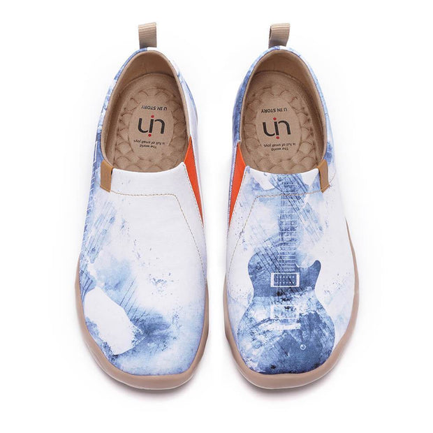 UIN Footwear Men Music Chase (Pre-sale) Canvas loafers