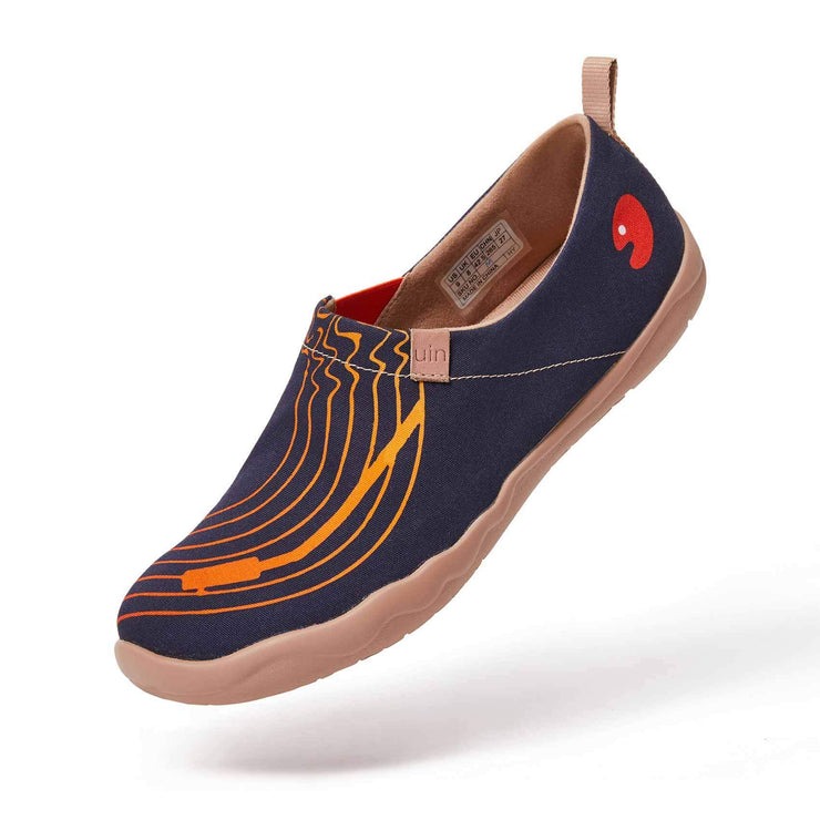 UIN Footwear Men Music Tour Canvas loafers
