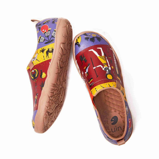 UIN Footwear Men (Pre-sale) Horus Canvas loafers