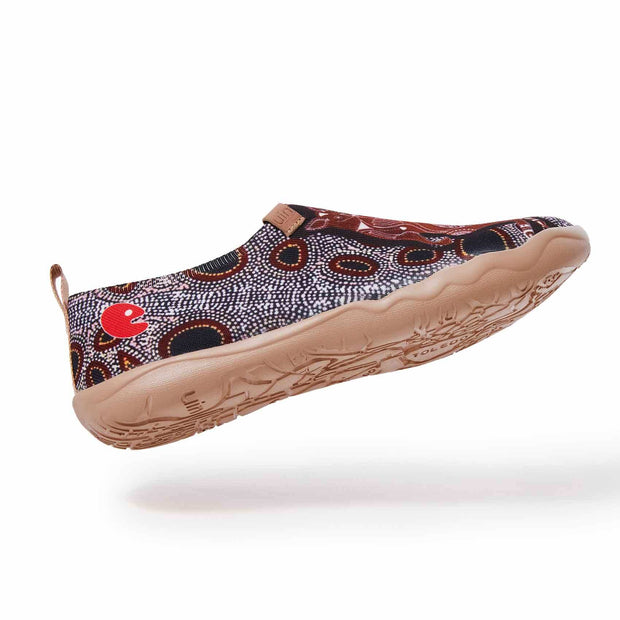 UIN Footwear Men (Pre-sale) Oceania's Treasure Canvas loafers