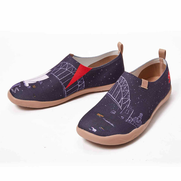 UIN Footwear Men (Pre-sale) Opera Night Canvas loafers
