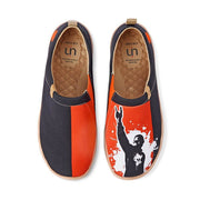 UIN Footwear Men Rust in Peace Canvas loafers