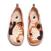 UIN Footwear Men Shar Pei Canvas loafers