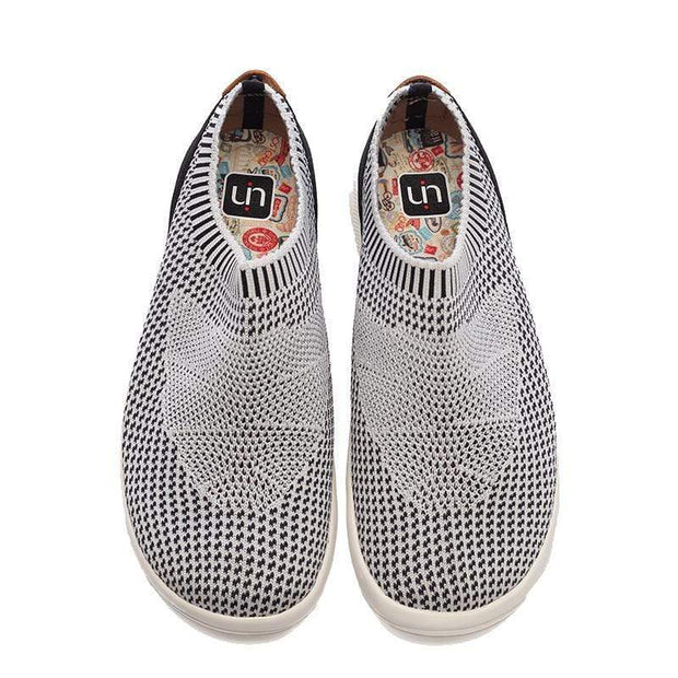 UIN Footwear Men Sicily Grey Canvas loafers