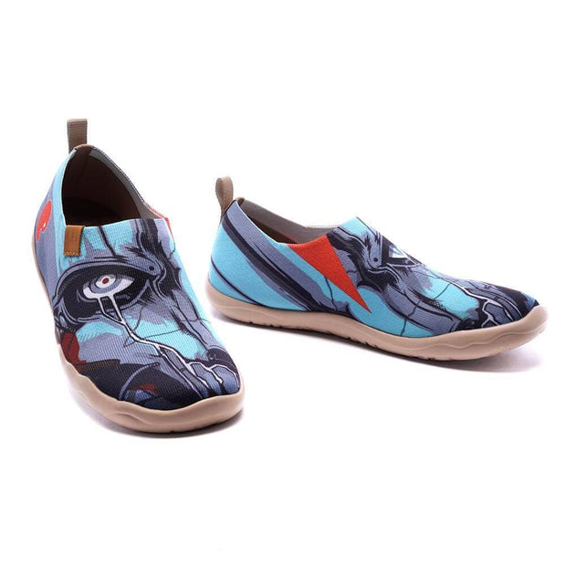 UIN Footwear Men The Power Within Canvas loafers