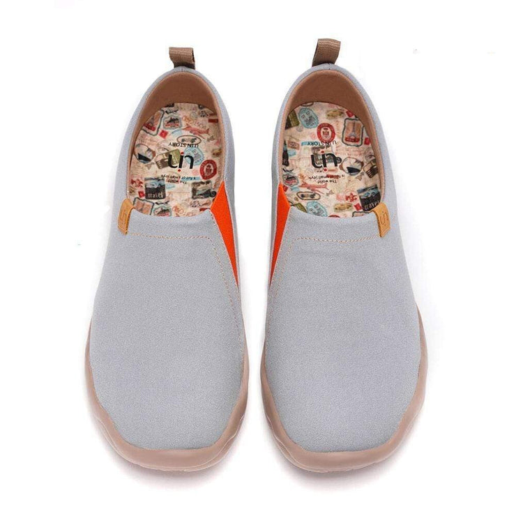 UIN Footwear Men Toledo Grey Canvas loafers