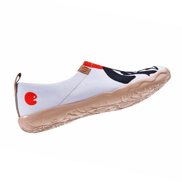 UIN Footwear Men Will to Fight Canvas loafers