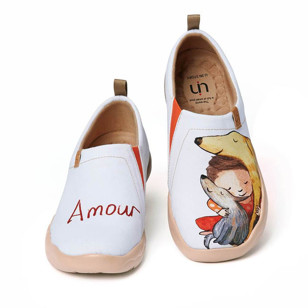 UIN Footwear Women Amour Canvas loafers