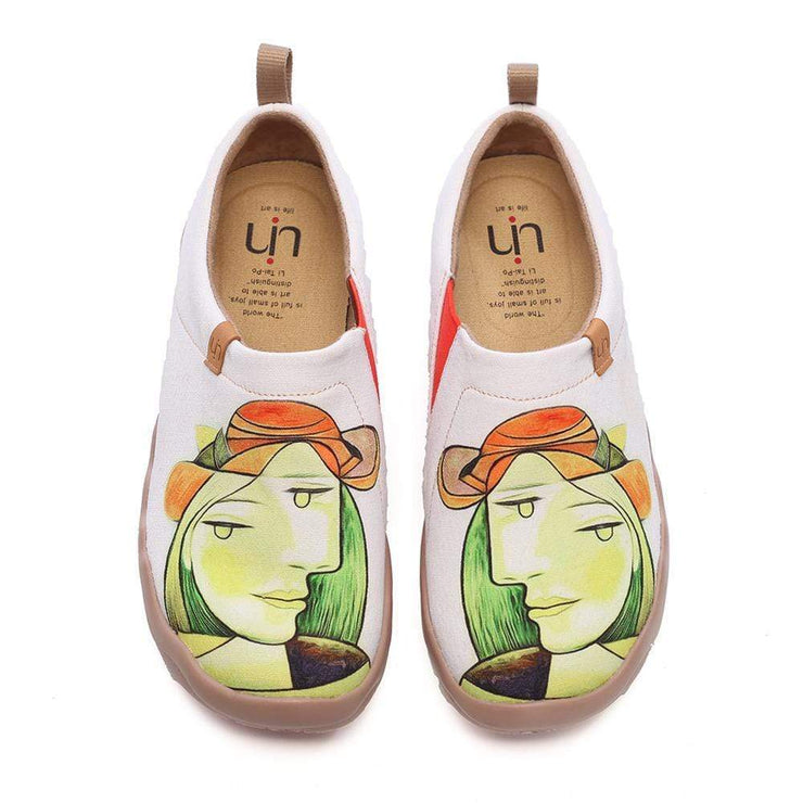 UIN Footwear Women Anna Canvas loafers