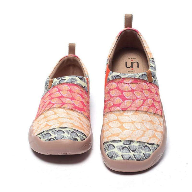 UIN Footwear Women Bodhi Leaf Canvas loafers