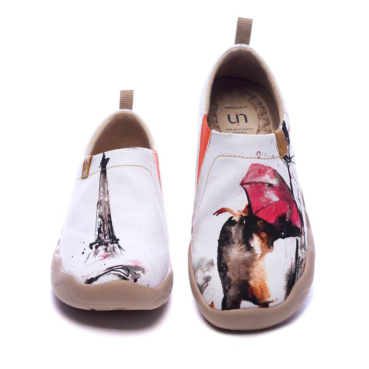 UIN Footwear Women C'est l'Amour Canvas loafers
