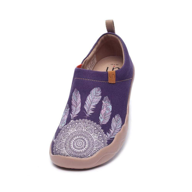 UIN Footwear Women Dreamcatcher Canvas loafers