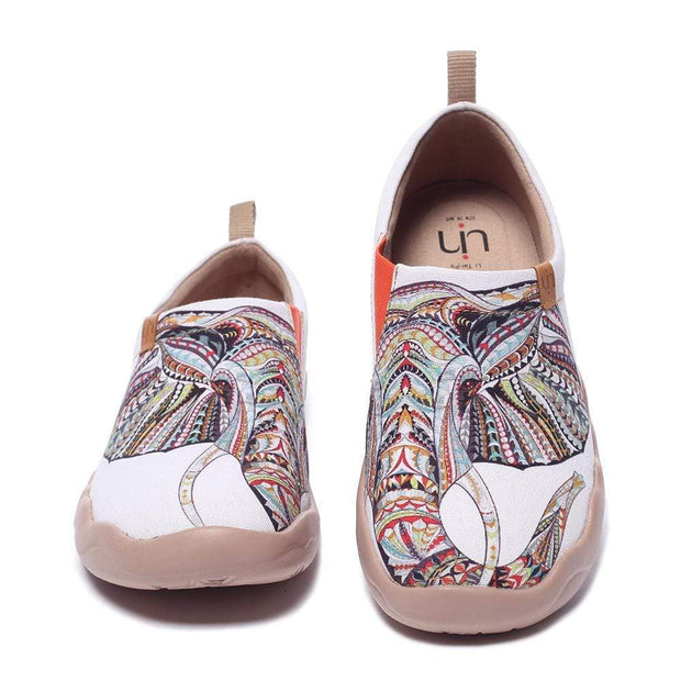 UIN Footwear Women Elephant Canvas loafers