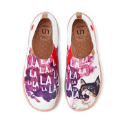 UIN Footwear Women LA LA LA Canvas loafers